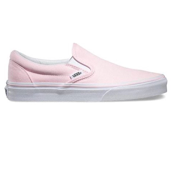 ae7a2f111725 Pastel Pink Slip On Vans 💕MENS 5 WOMENS 6.5💕